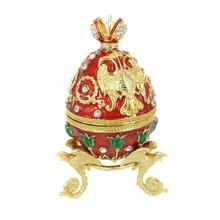 unique design fashion metal jewelry box Easter eggs box Z-0008