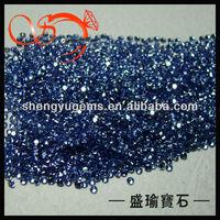 loose semi precious gemstones loose cz gemstone round CZRD-2