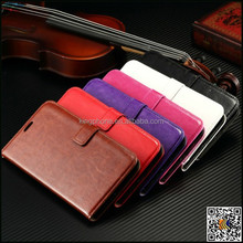 high quality Crazy Horse grain flip leather case for Nokia N640