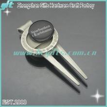 Blank magnetic golf ball marker for custom logo