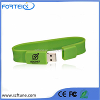 Good Quality Wholesale Silicone Wrist Band USB