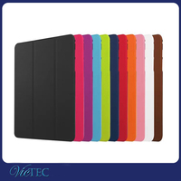 Factory bottom price nap on PU leather flip case for tablet Samsung Galaxy Tab S2