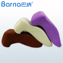 Velour cover microfiber filling sleeping pillow cushion premium quality Memory Foam Nap Pillow