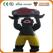 Factory direct sale custom design 3d inflatable cartoon model for 2015
