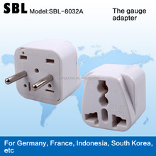 Europe type adapter plugs,The gauge adapter,Universal plug,Conversion socket