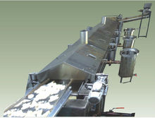POTATO CHIPS MACHINE PRICE LOW PRODUCTION CAPACITY 200 kg/hr CASSAVA MACHINE