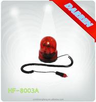 12v 24v Car Used Magnetic Round Revolving Signal Light Police Car mini Warning Light