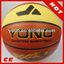 lastest design pu laminated basketball