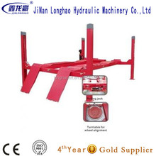 Longhao Wheel Alignment Used 4 Post Car Lift For Sale