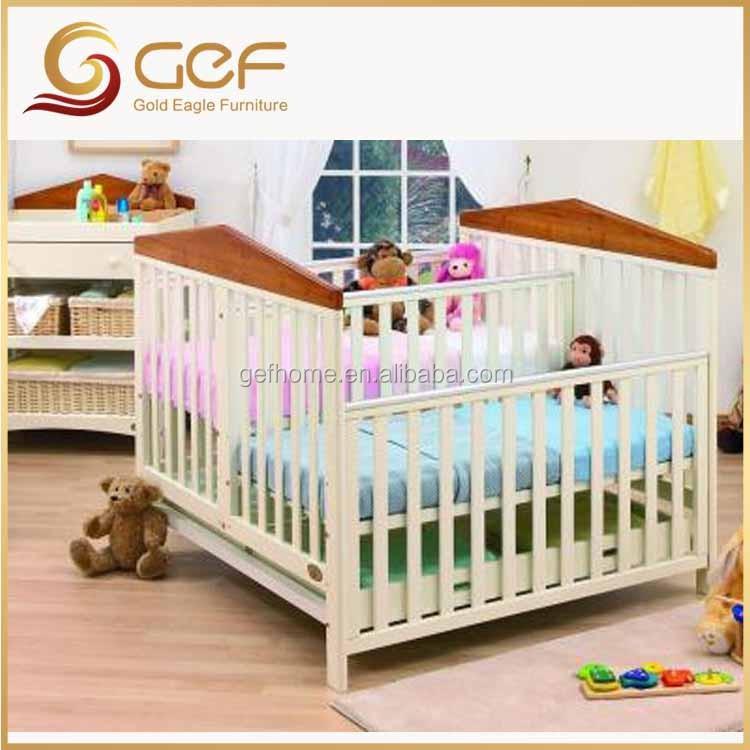 Jumeaux b b s en bois berceau lit b b lit pour jumeaux gef bb 107 lit barreaux b b id de - Lit double pour bebe jumeaux ...