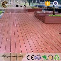 wpc wood plastic boards floorings crack-resistant laminate veneer wpc outdoor decking