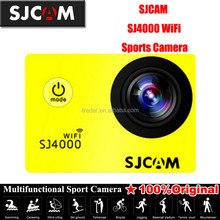 Latest but cheap mini sport camera sj4000 wifi waterproof 30m wide angel