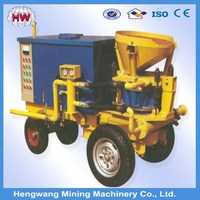 Professional multifunctional HSP series wet concrete Mortar Spray Machine for sale