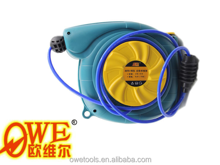 wall mounted auto air hose reel,automatic retractable air hose reel