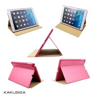 Ultra Thin PU Leather for iPad air Animal Rubber Case