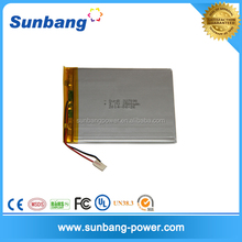 OEM customizable 3.7v lithium ion polymer battery 2500mah battery operated security camera