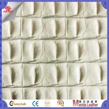 MRD5095 Fashion crocodile skin embossed material pvc leather