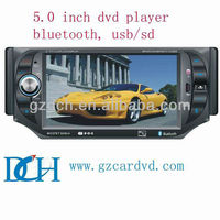 5 inch 1 din car dvd player WS-5002