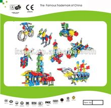2012 Best selling Plastic Building Blocks Educational Toys High Quality Best Price Meet the EU and TUV's standards