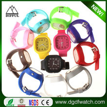 2015 customized logo silicone jelly watches for women ,promotion jelly sweet watch