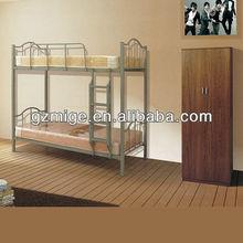 Good Price Strong Metal Frame bunk bed wtih cushion