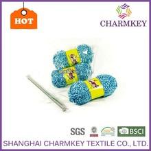 Super bulky soft fancy hand knitting yarn acrylic polyester blend yarn