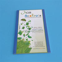 Wholesale cheap glossy full color art paper product catalog printing