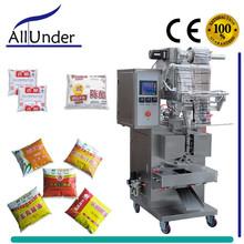 automatic liquid/soy/white/wood/apple cider vinegar bag filling sealing machine,pouch filler sealer machine ALLUNDER