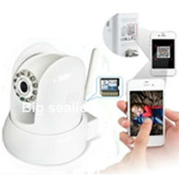 Two-Dimentional Code Scanning wifi cctv camera with sony ccd