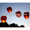 Customized pumpkin sky lantern for Halloween use