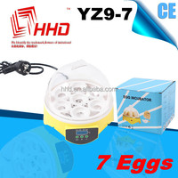 2014 Automatic Free shipping Temperature Control poultry pellet feed machine YZ9-7 for 7 Eggs