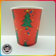 Wholesale Christmas Tree Disposable Paper Cup
