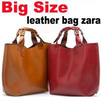 Big size bag leather tote bag harson bags handbags EMG8135-2