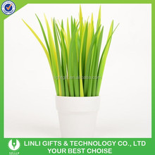 Green Grass Soft Silicone Rubber Refreshing Ballpoint Pen,Rollerball Pen