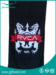 Microfiber sports direct sale,custom active printed microfiber sport towel