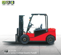 CPD40JC2 Lifting 2.5-6m EP four wheel drive forklifts