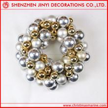 LED Luxury Plastic Christmas wreath ball decoration