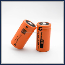 Listman 3.7v imr 18350 rechargeable 3.7v 800mah battery pack