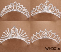 The European and American fashion diamond crown