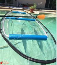 New transparent kayak/ PC Formed Transparent Kayak/clear plastic transparent kayak
