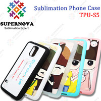Best Selling Custom Printed TPU Cover for Samsung Galaxy s5