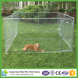 best selling products chain link style Portable High Modular Dog Kennel