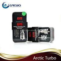2015 Cacuq newest arrival Original Horizon Arctic Turbo Atomizer 4ML adjustable airflow arctic turbo