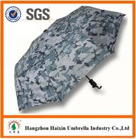 Special Print black gel umbrella with Logo