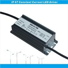 PF>0.98 EFF>88% EMC LVD C-tick passed waterproof led driver 70W 2400ma