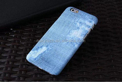 """Hot Sell Fashion Phone Cases Plastic Hard Back Case Cover For iPhone 6 4.7''5.5"""" Jeans Style PC Skin Phone Cover"""