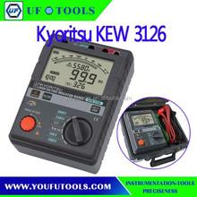 High Voltage Kyoritsu 3126 Digital Insulation / Continuity Resistance Tester 5000V 1T Ohm