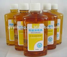 de grado alimenticio líquido antiséptico para desinfectantes de uso doméstico de la norma iso antiséptico desinfectante líquido