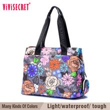 vivisecret stylish woman shoulder bag in China printed woman shoulder bag manufacture for traveling