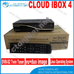 Cloud Ibox 4 Digital Satellite Receiver with Twin Tuner Cloud Ibox IV 400 MHz MIPS Processor Cloud Ibox4 Linux OS icloud box 4